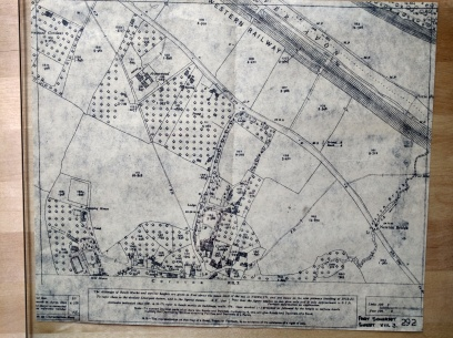 Extract from 1842 Ordnance Survey
